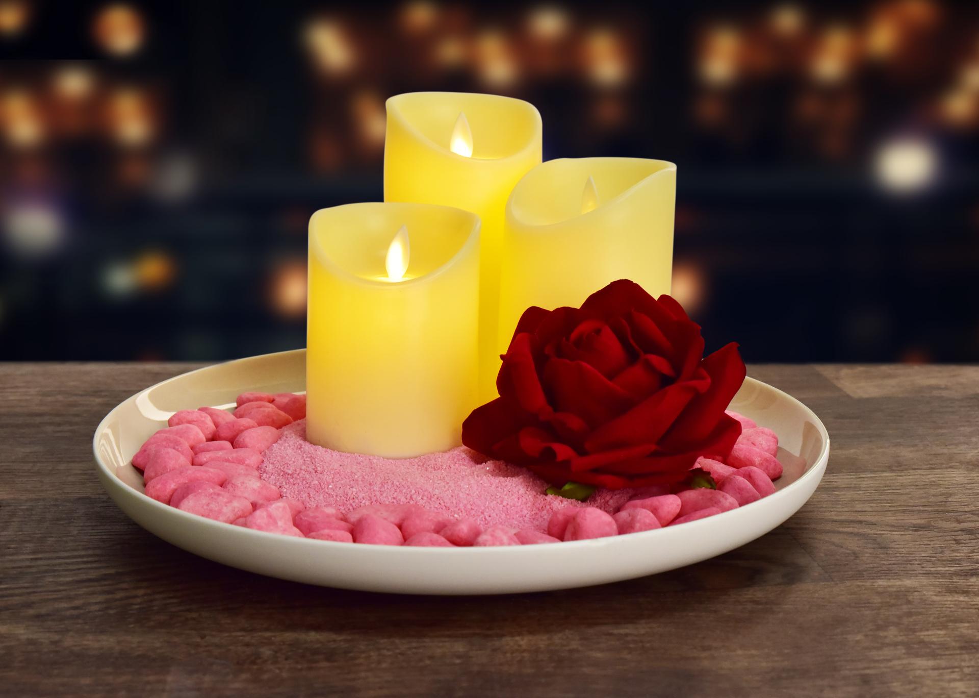 Dekorativní kameny, světle růžové, 500g