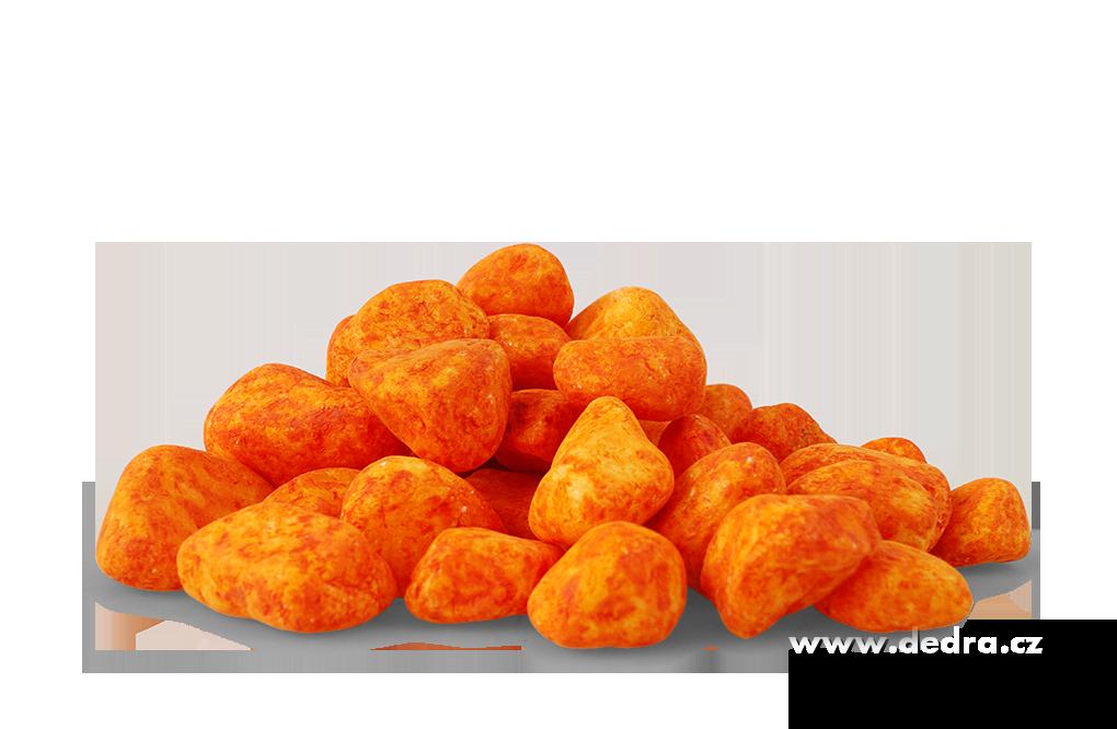 Dekorativní kameny oranžové