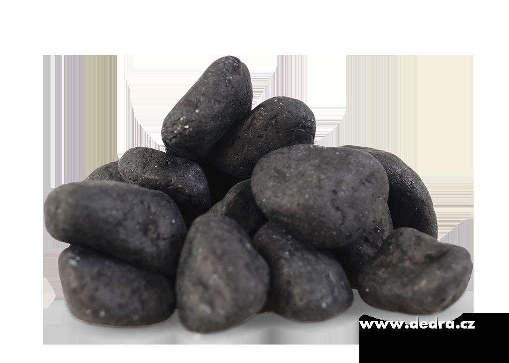 Dekorativní kameny černé
