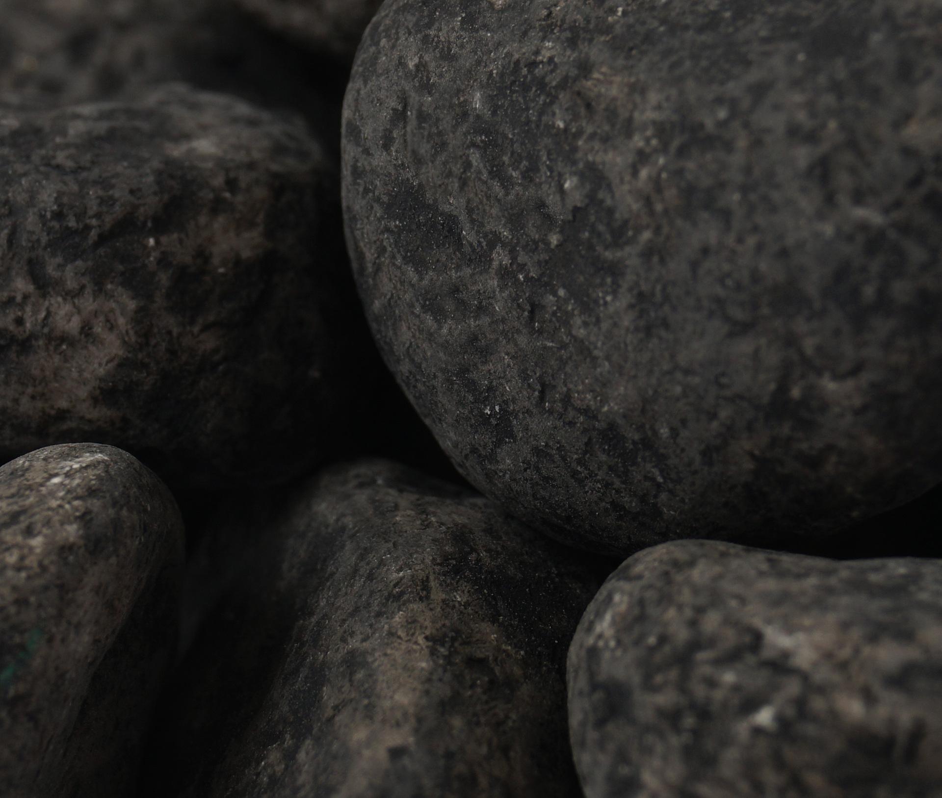 Dekorativní kameny, kouřově šedé, 500g