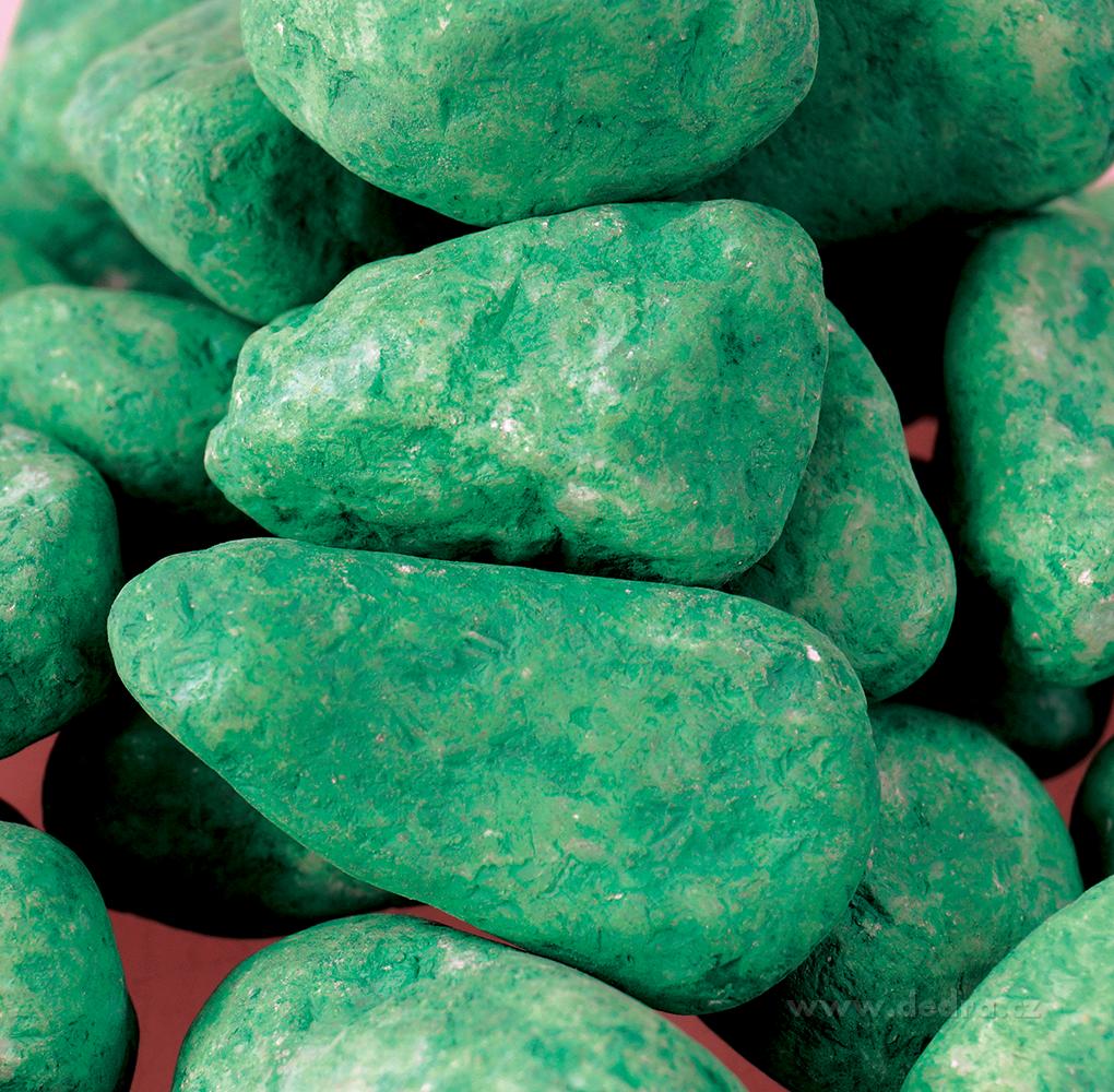 Dekorativní kameny, tyrkysové, 500g