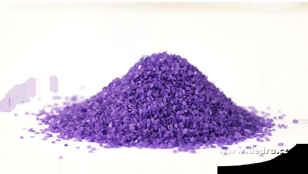 Dekorativní písek světle fialový