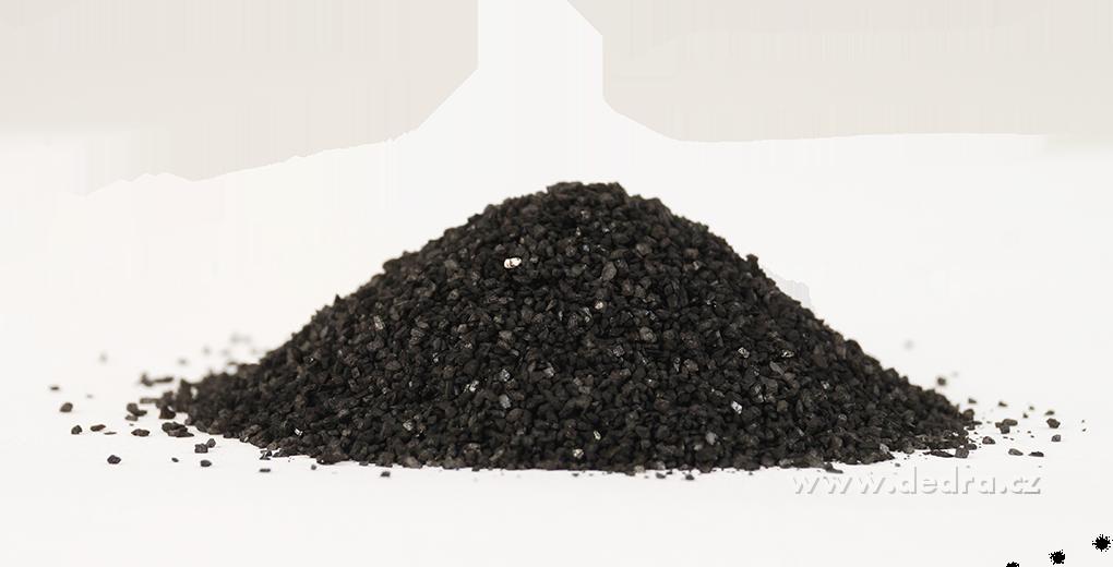 Dekorativní písek černý