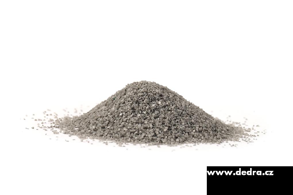 Dekorativní písek šedý