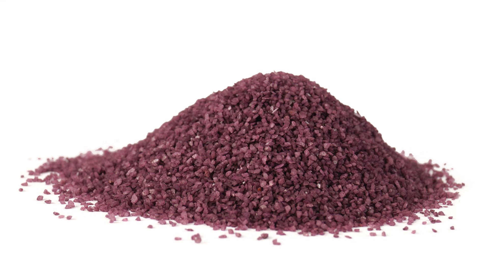 Dekorativní písek, tmavě fialový, 400g
