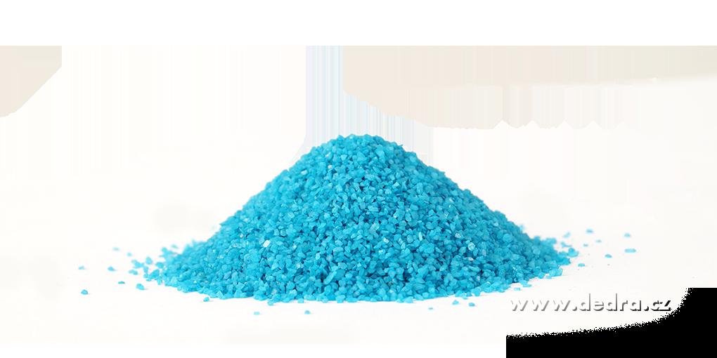 Dekorativní písek světle modrý