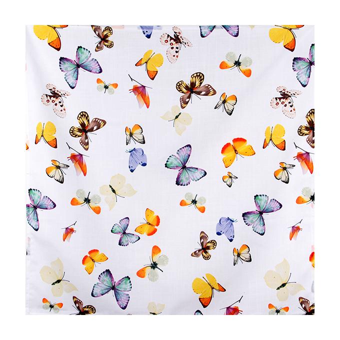 Ubrus s motýly, 85x85 cm