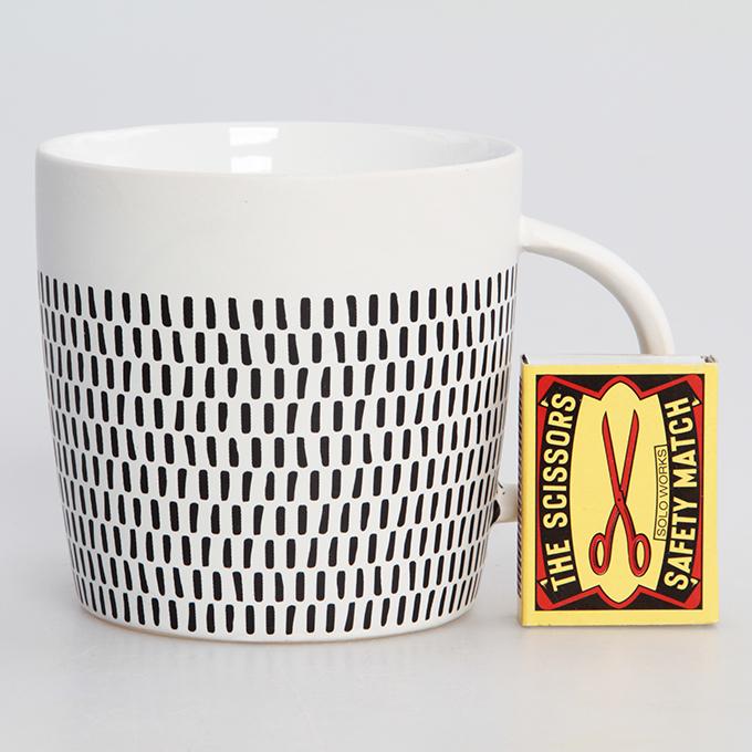 DA9067-Keramický hrnček Mosaics objem 380 ml