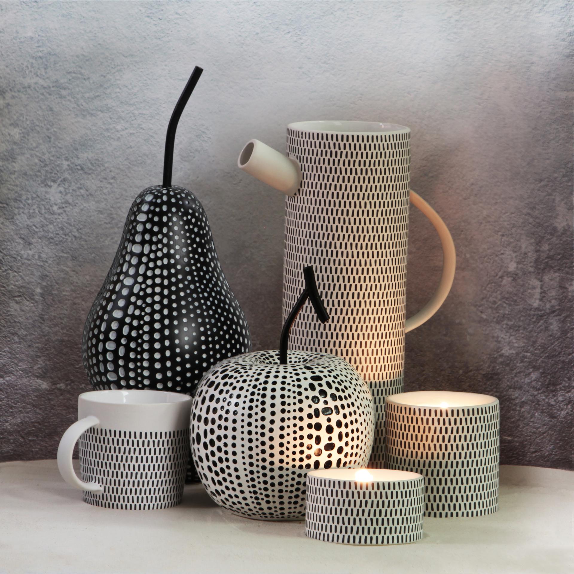 Keramický svícen na čajové svíčky, MOSAICS