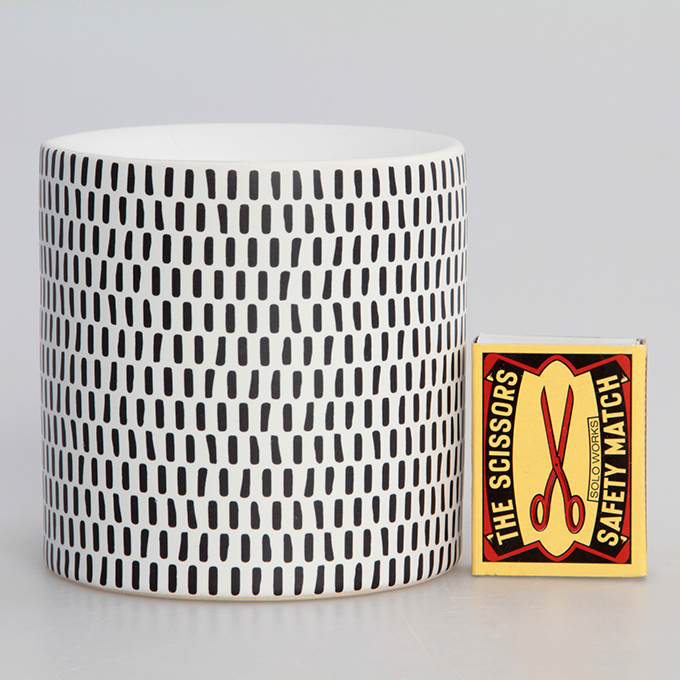 Keramický svícen na čajovou svíčku, MOSAICS