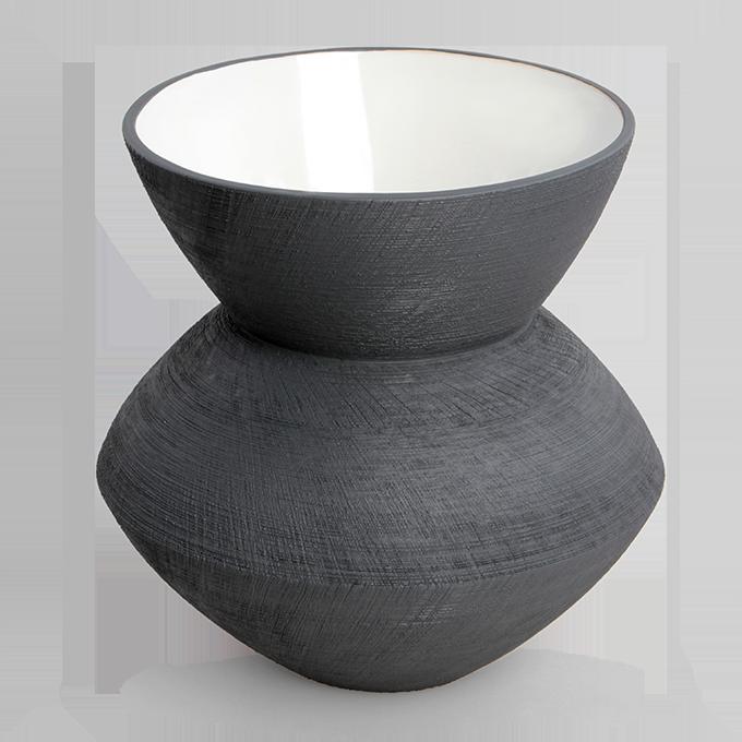 XL keramická váza STONE výška 27,5 cm