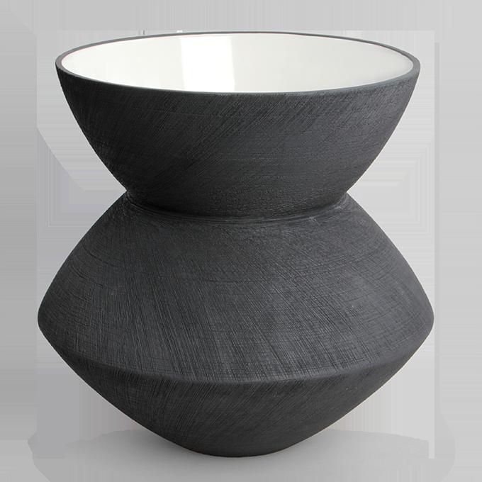 XXL keramická váza, 34 cm, STONE CERAMICS