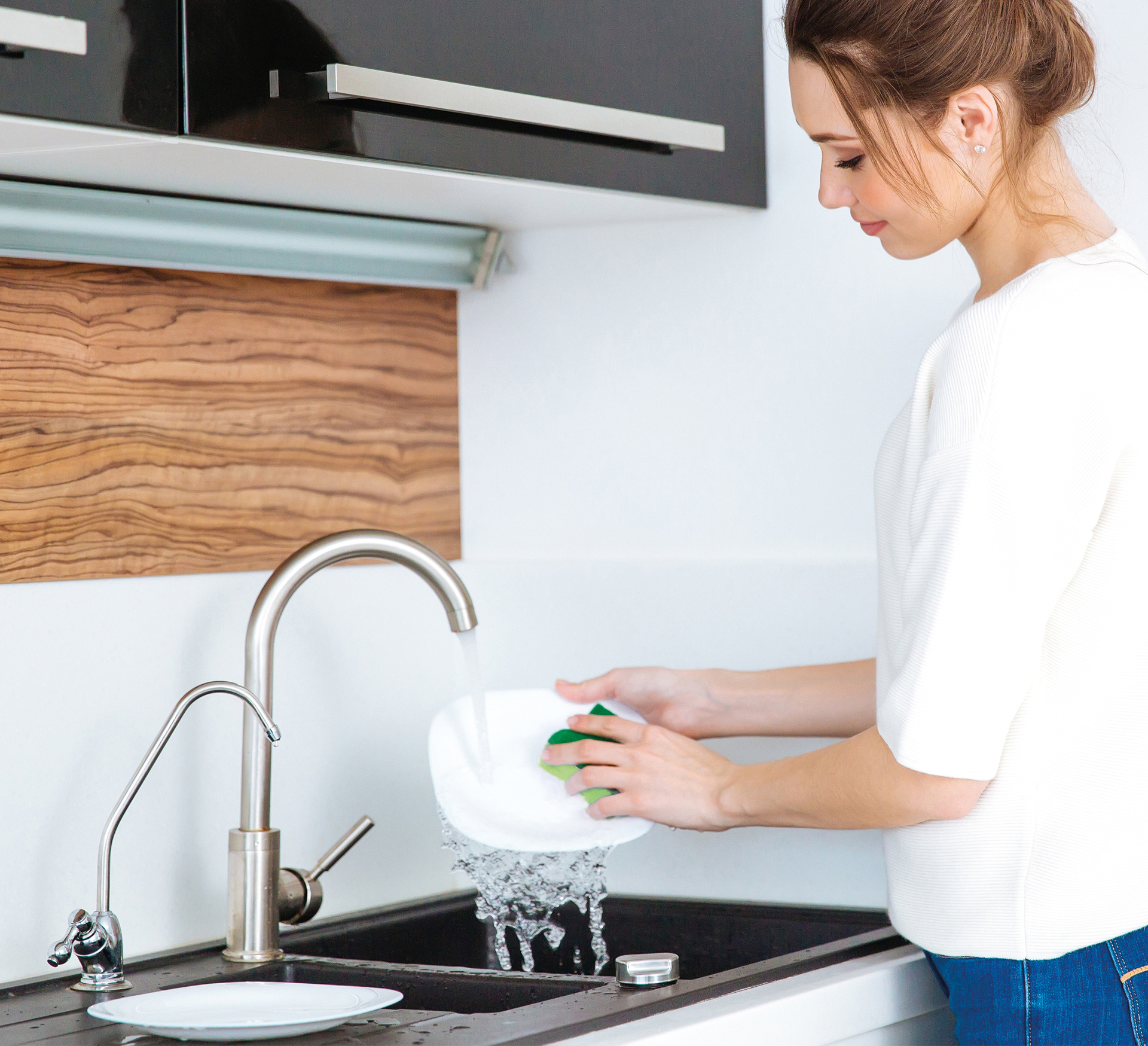 10 ks houbičky HARD na mytí nádobí, tvrdý povrch