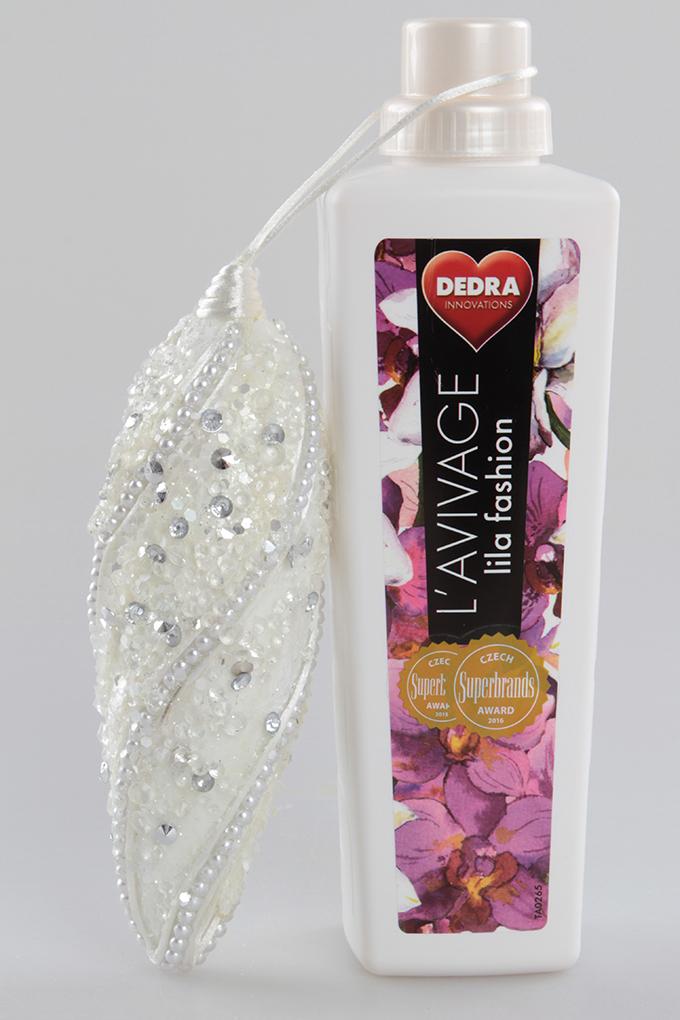Šiška bílá 18 cm, závěsná dekorace
