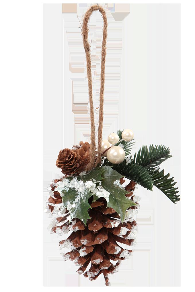 Závěsná šiška dekorativní s přízdobou