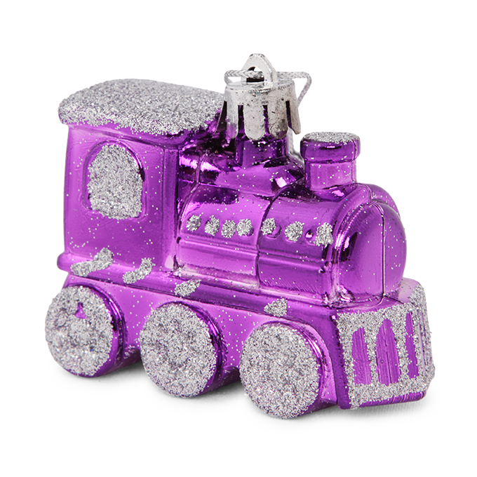 4 ks fialových lokomotiv, s metalickým finišem