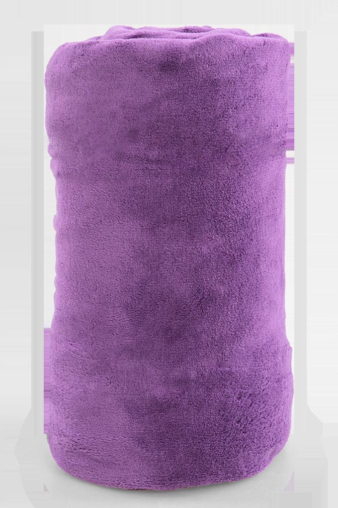 FC91141-LAGOON prikrývka fialová 150 x 200 cm