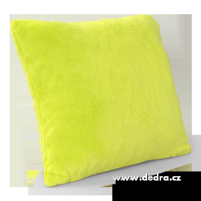 LAGOON potah, na polštář jasně zelený