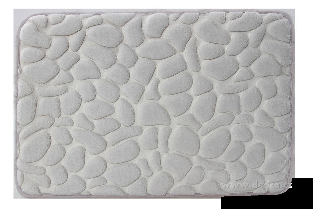 FC91191-Kúpeľňová predložka ANATOMIXX, šedá 60 x 40 cm