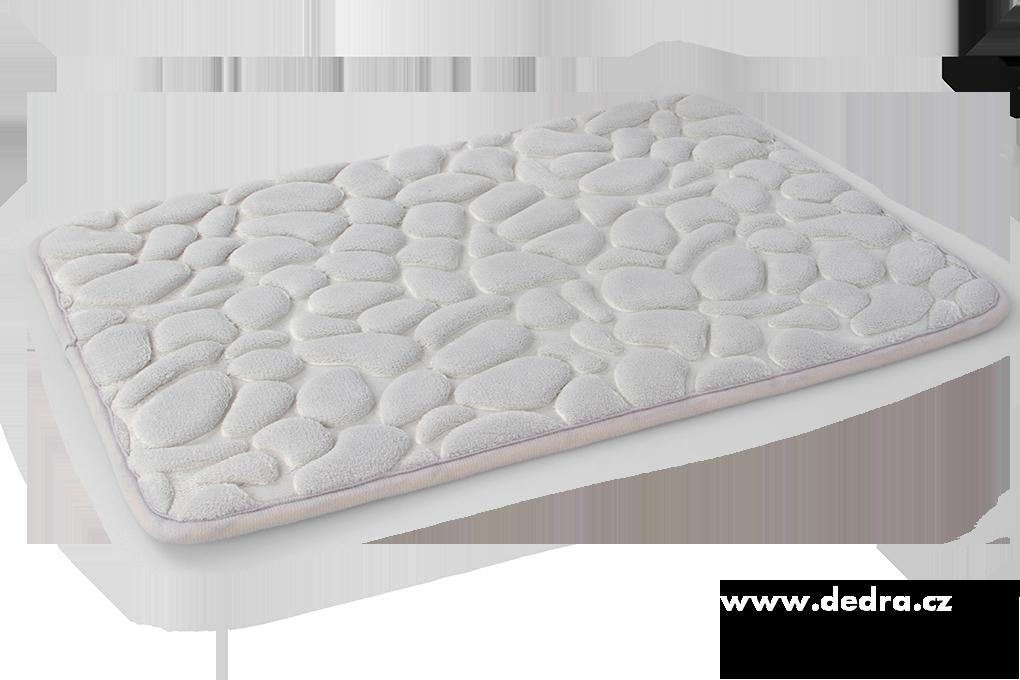 Koupelnová předložka ANATOMIXX, šedá 60 x 40 cm