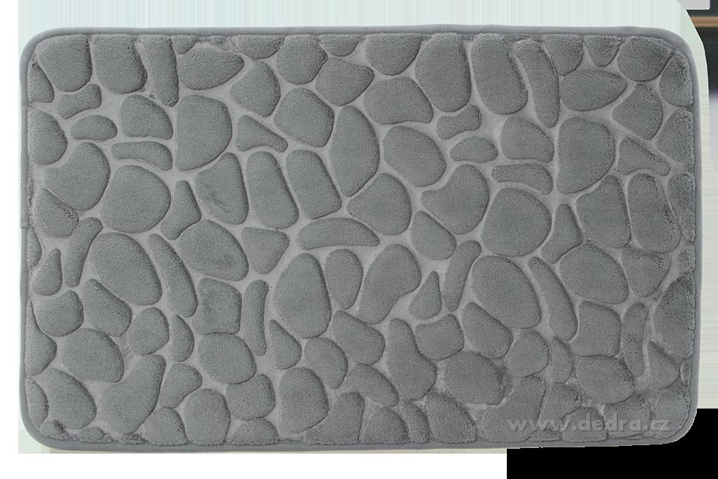 FC91192-Kúpeľňová predložka ANATOMIXX, grafit 60 x 40 cm