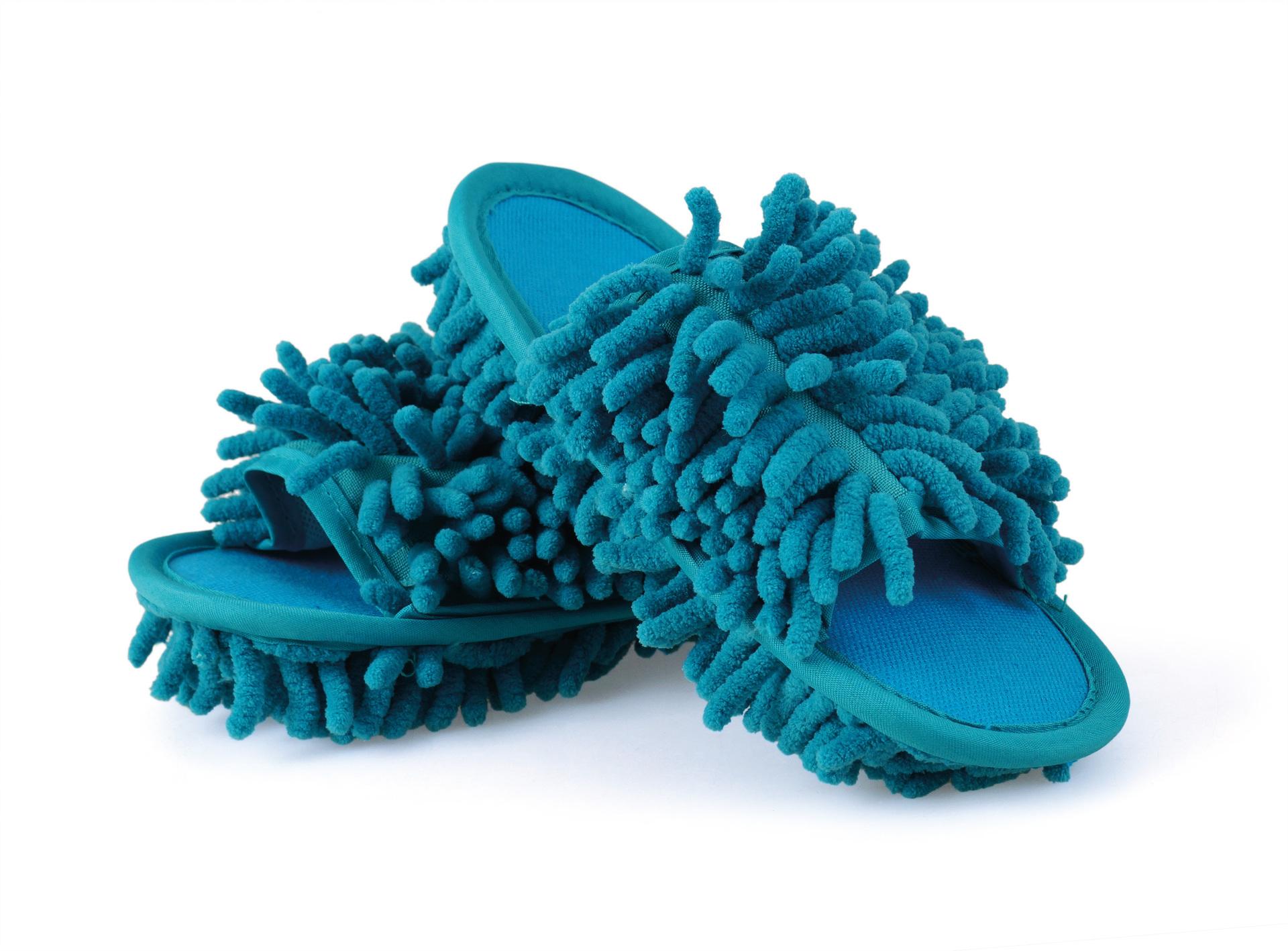 """""""Kapciopolerki"""" obuwie czyszcz±ce, 1 para turkusowe, rozm. 31-35"""