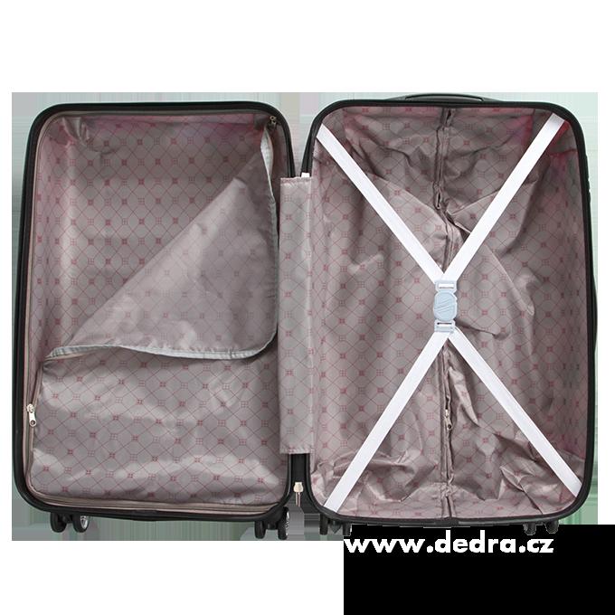 Kufr menší, pink tetris