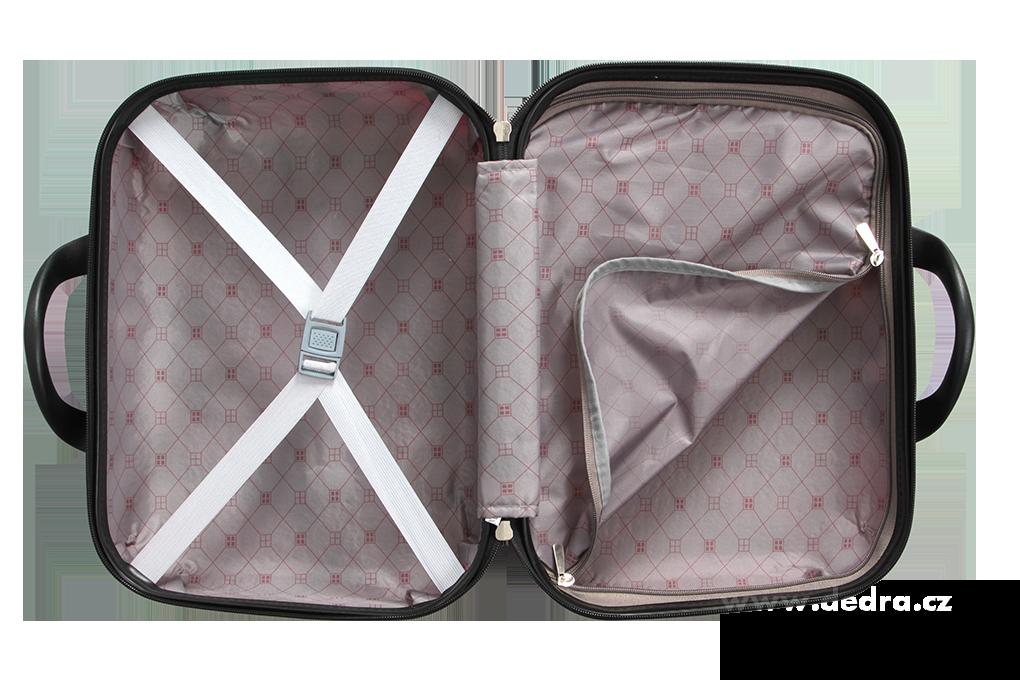 Kufr příruční větší, BLUE TETRIS