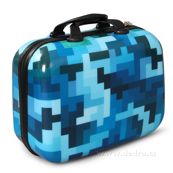 Kufr příruční většíblue tetris37 x 17 x 30 cm