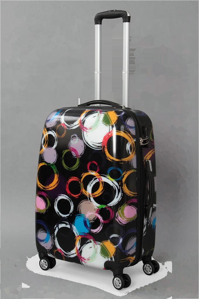 Kufr menší, colored circles