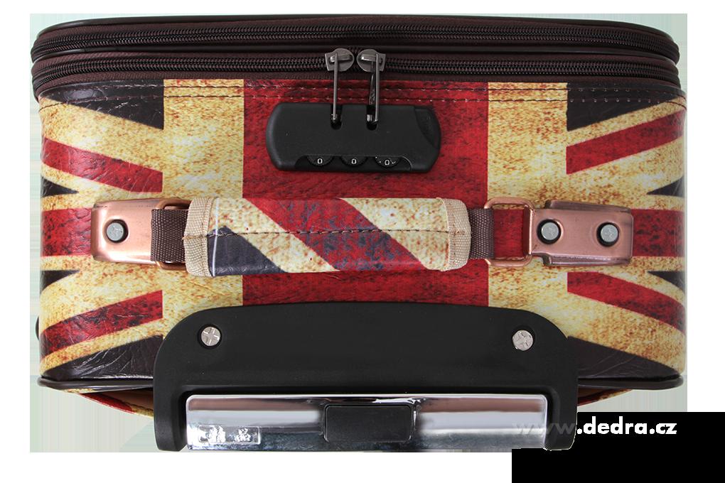 Kufr z ekokůže větší, London