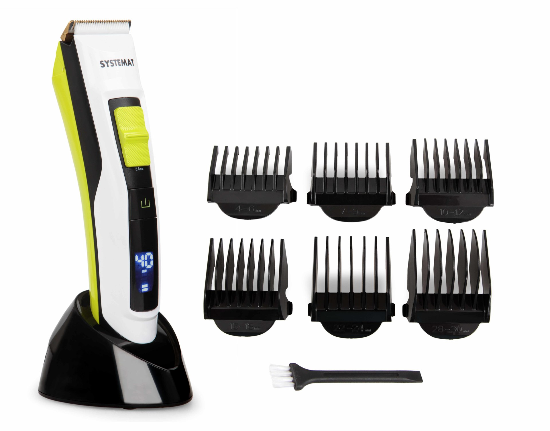 Keramický zastřihovač vlasů a vousů, dobíjecí CERAMIC TRIMMER, SYSTEMAT