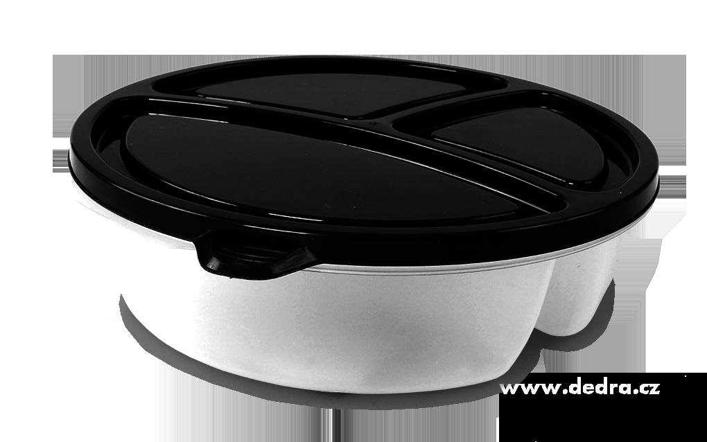 TRIOBOX na potraviny, 3in1, 330+350+570 ml