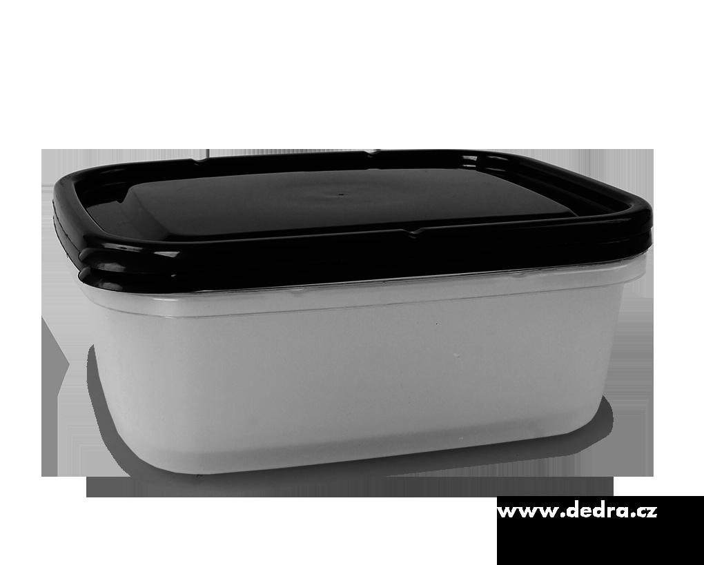 2 ks box 1300 ml, černý