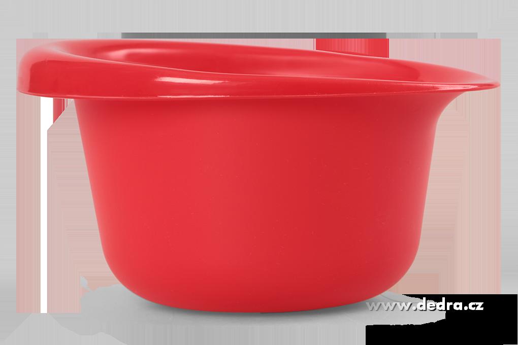 Mísa 800 ml, červená