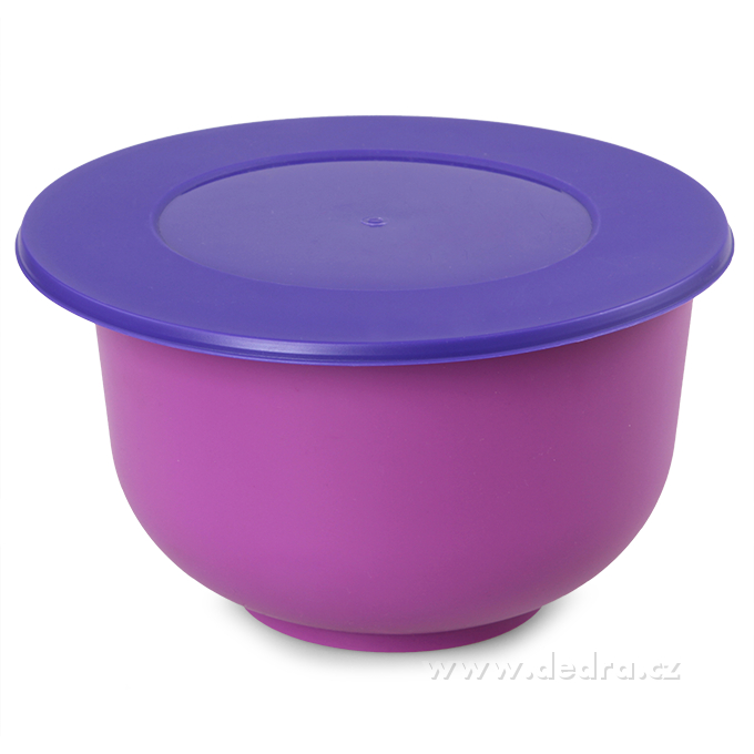 Kynoucí mísa s víkem 5000 ml fialová