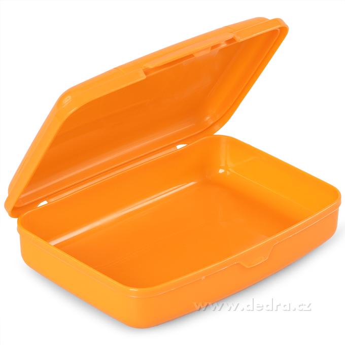 Svačinátor 350 ml, oranžový