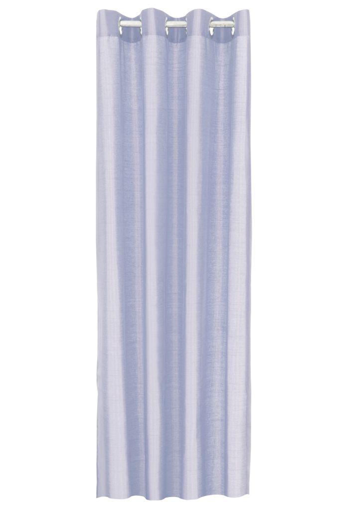 Závěs  z pevné neprůhledné tkaniny tkaniny, bledě modrý