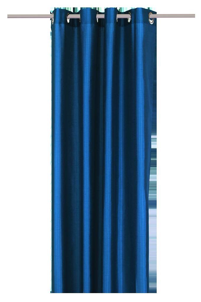 Závěs z neprůhledné tkaniny námořní modrý