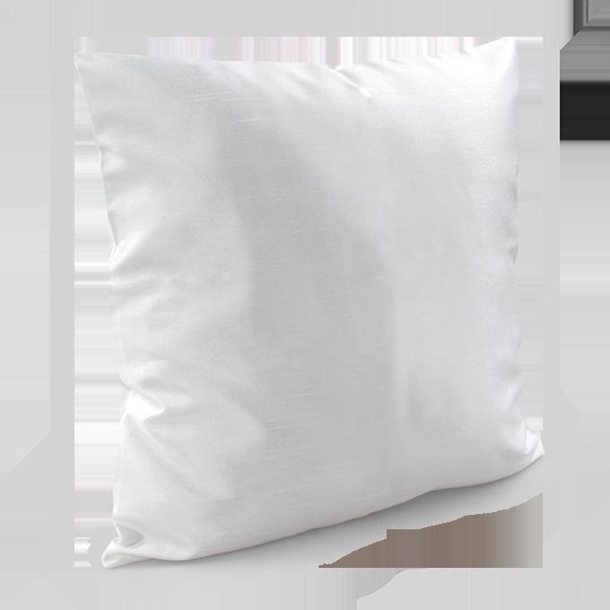 Potah na polštář smetanově bílý
