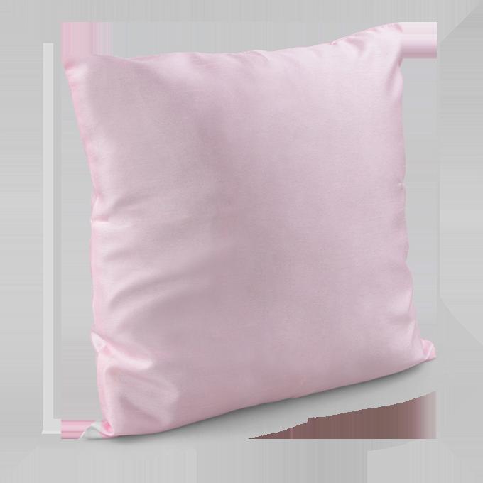 Potah na polštář růžový