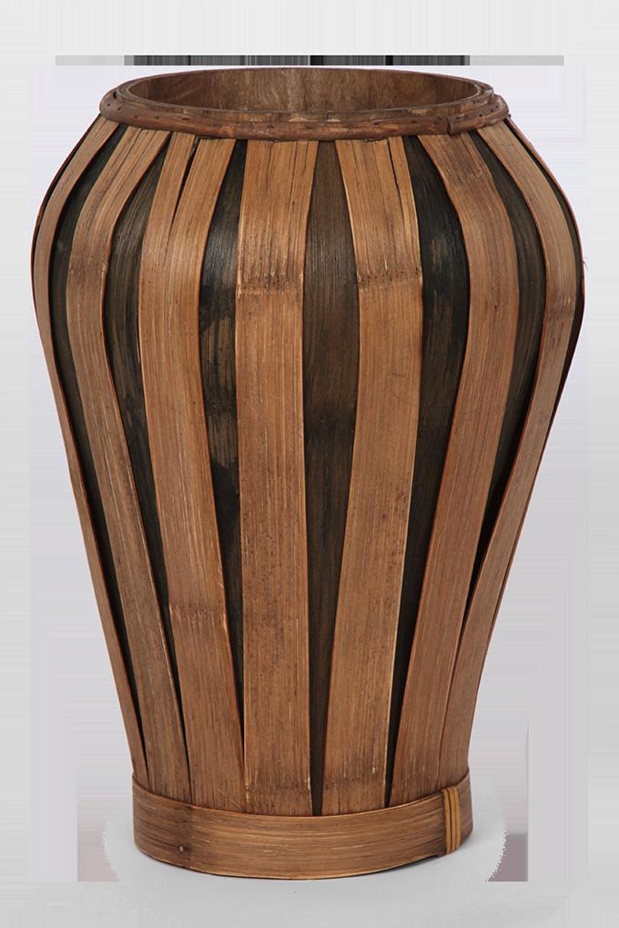 Váza z bambusové dýhy GoEco