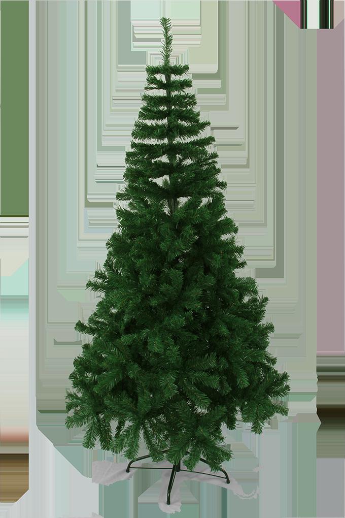 210 cm vánoční stromek se stojanem, ZELENÝ SMRK