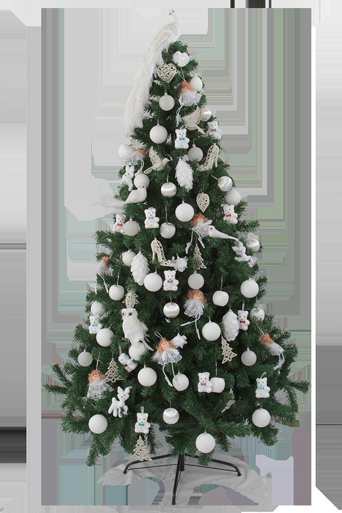 DA91722-Vianočný stromček zelený smrek, v.210 cm