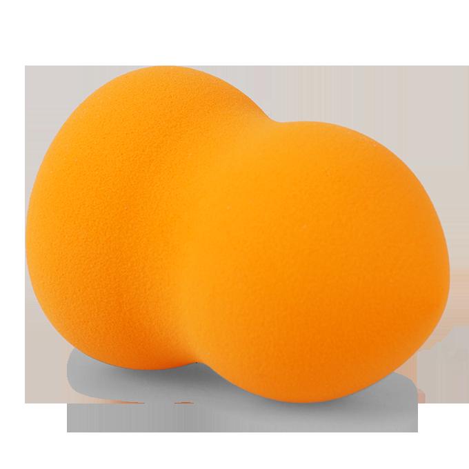 MAKE-UP houbička, oranžová