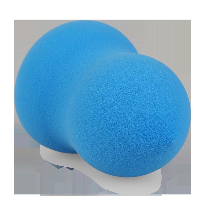 MAKE-UP houbička, modrá