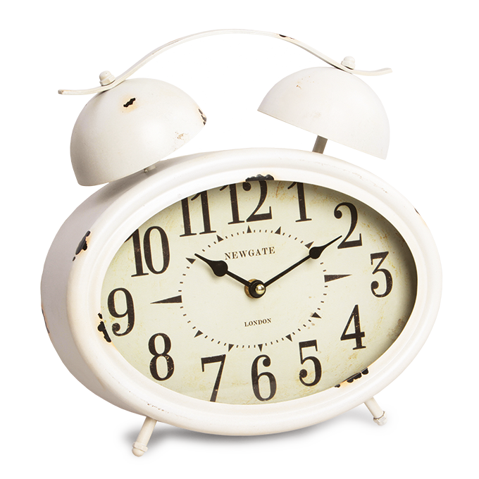 Velké kovové hodiny retro budík