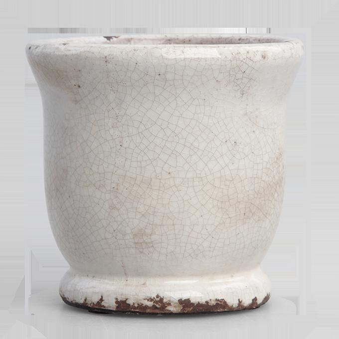 DA9282-Keramický obal na kvetináč alebo váza výška 10,8 cm