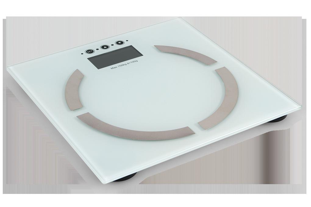 Osobní digitální váhas LCD displejema výpočty BMI, BMR