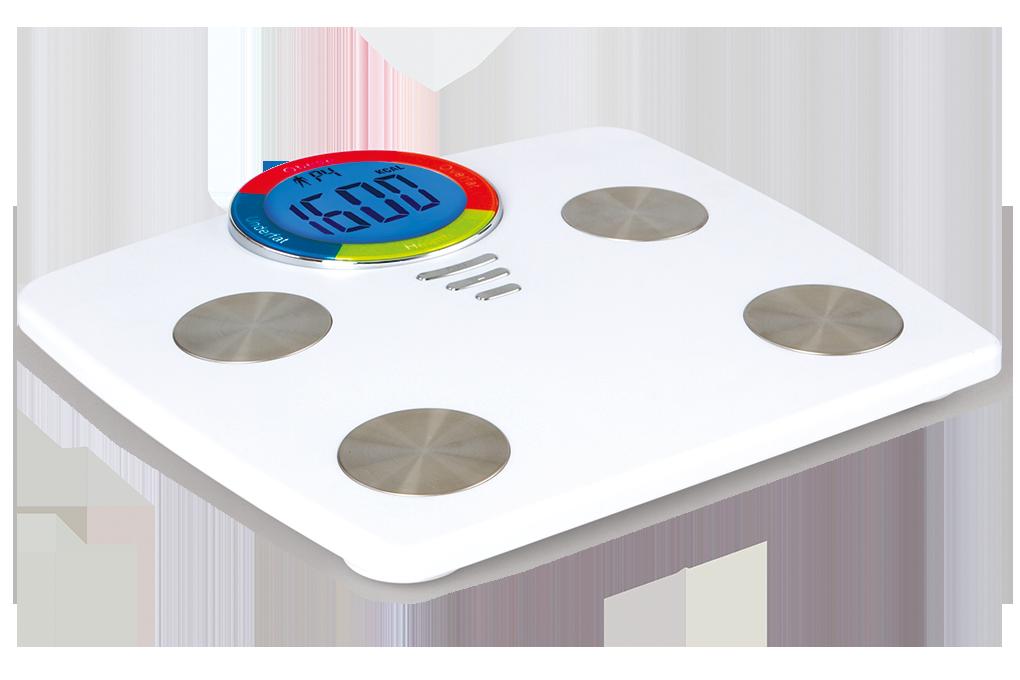 Osobní digitální váhas XXL LCD displejema výpočty BMI, BMR